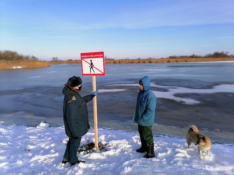 """""""Тонкий лед"""": в Полесске прошел надзорно-профилактический рейд"""